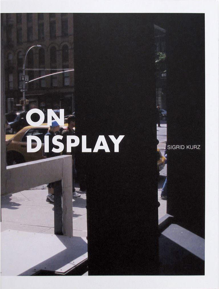 On Display,New York,Alternative art space,Repräsentation,Information,Verkauf,Ware
